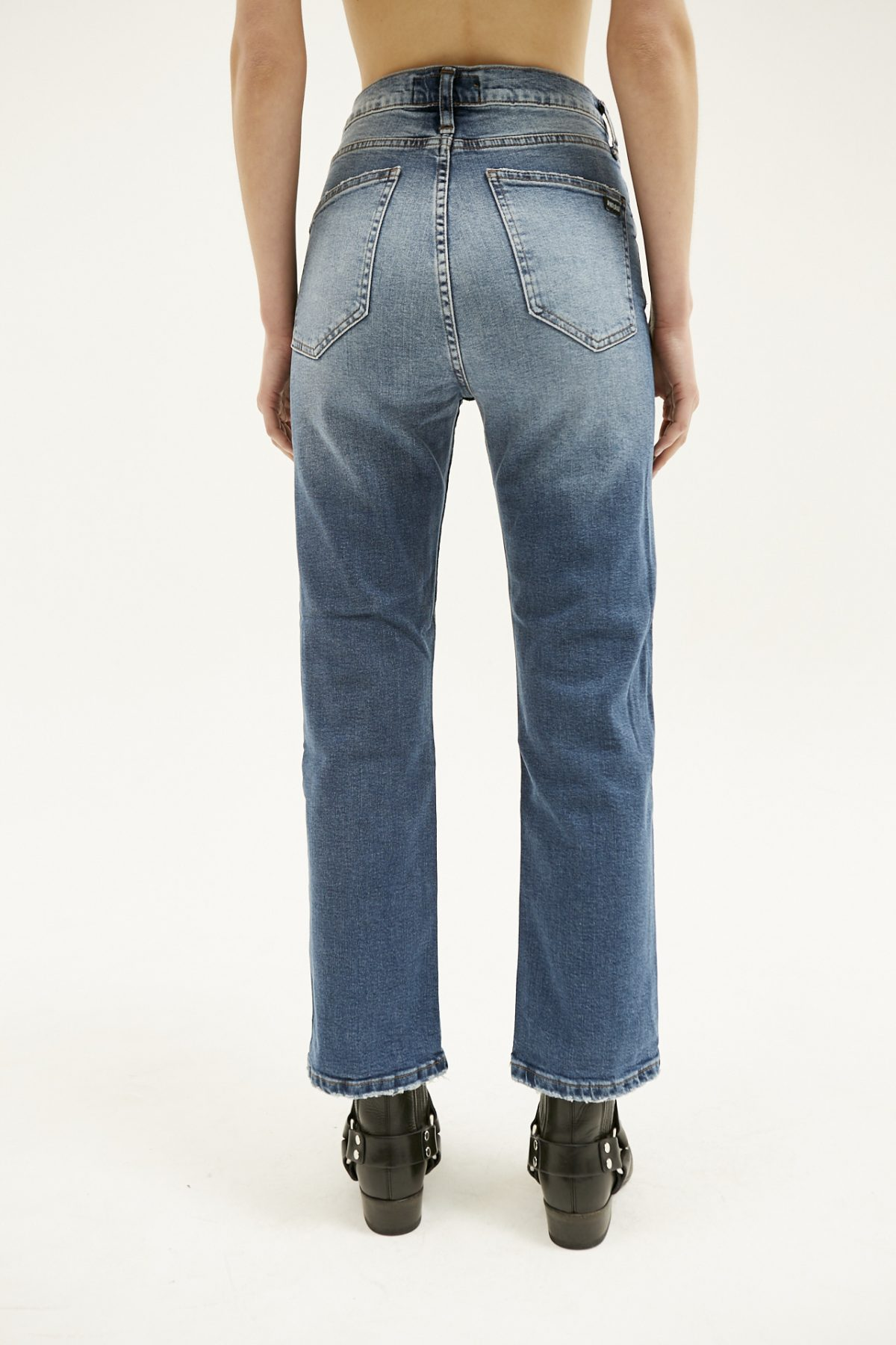 BOOT CUT USED BLUE13