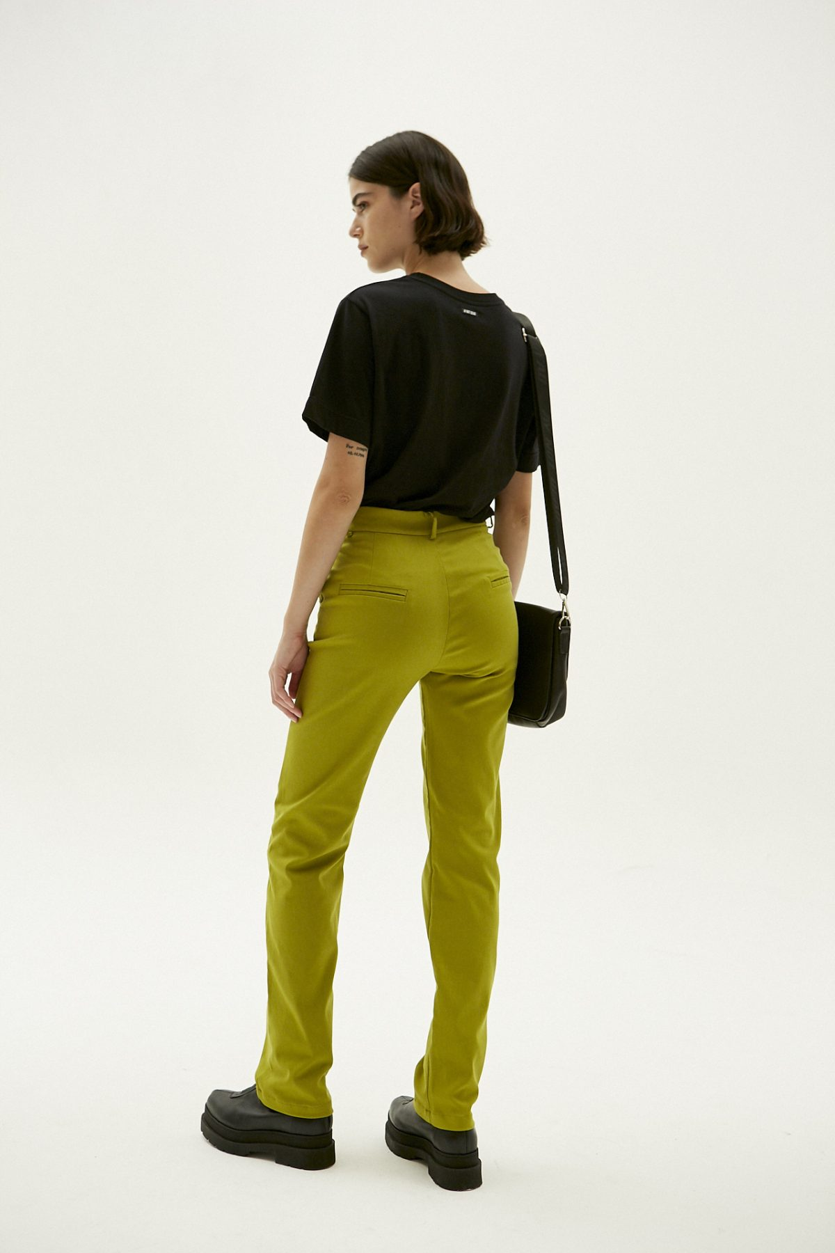 PANTALON STRAIGHT PIXIE VERDE 10