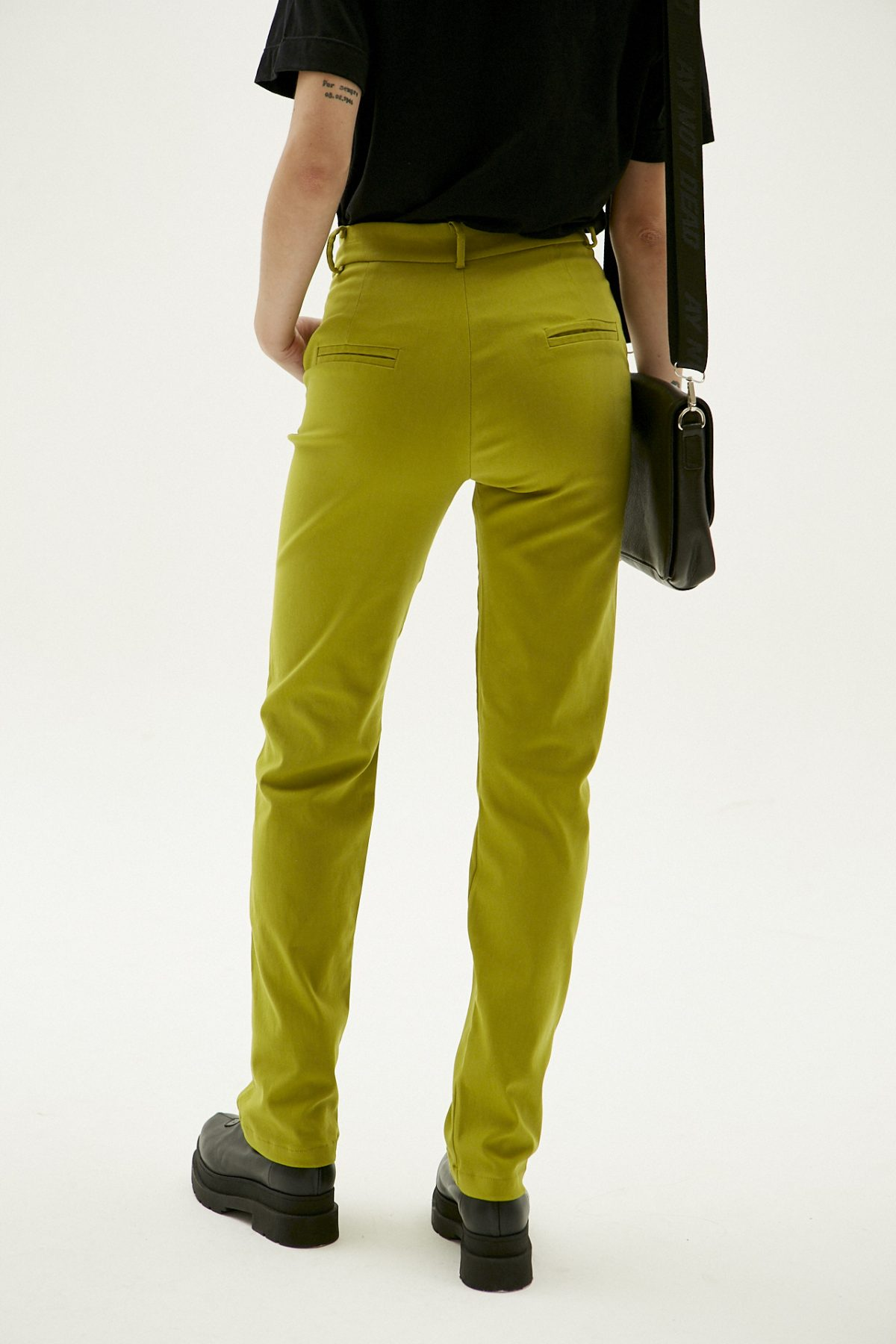 PANTALON STRAIGHT PIXIE VERDE 13