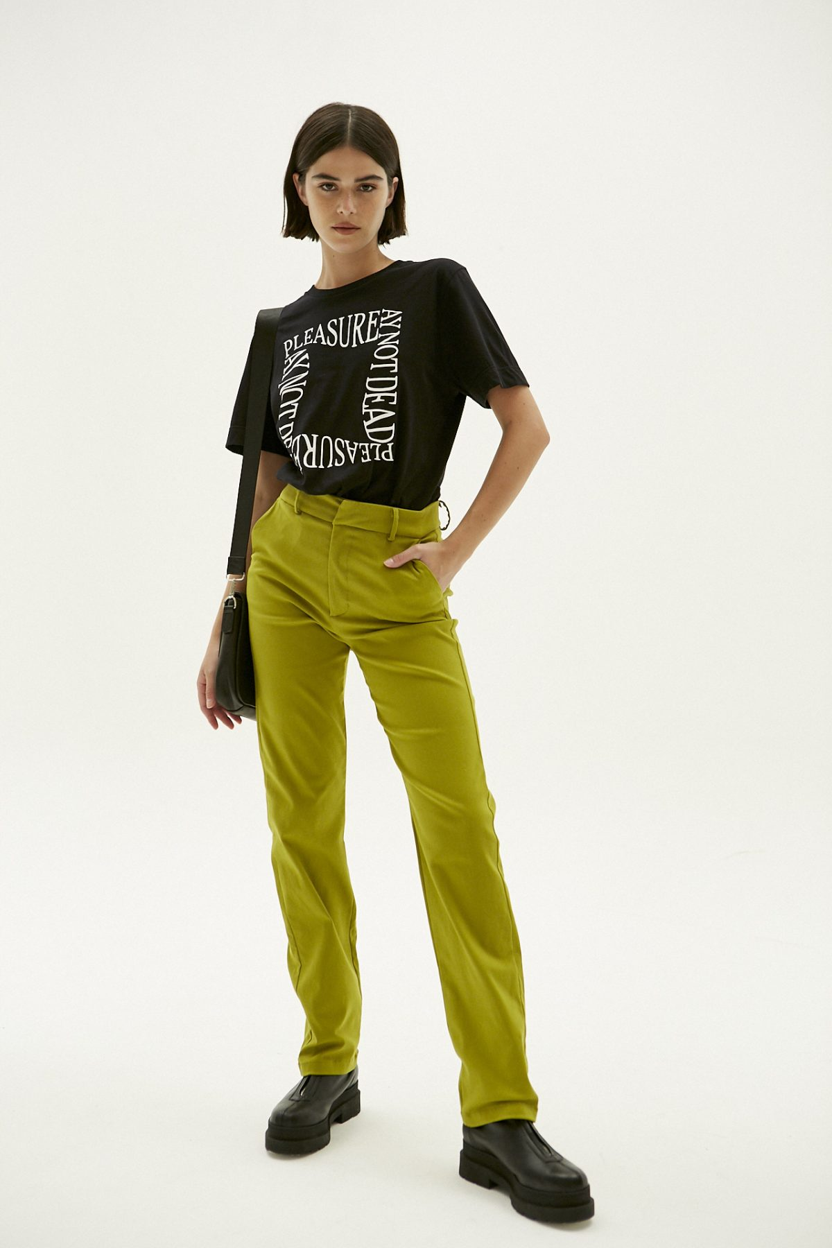 PANTALON STRAIGHT PIXIE VERDE 3