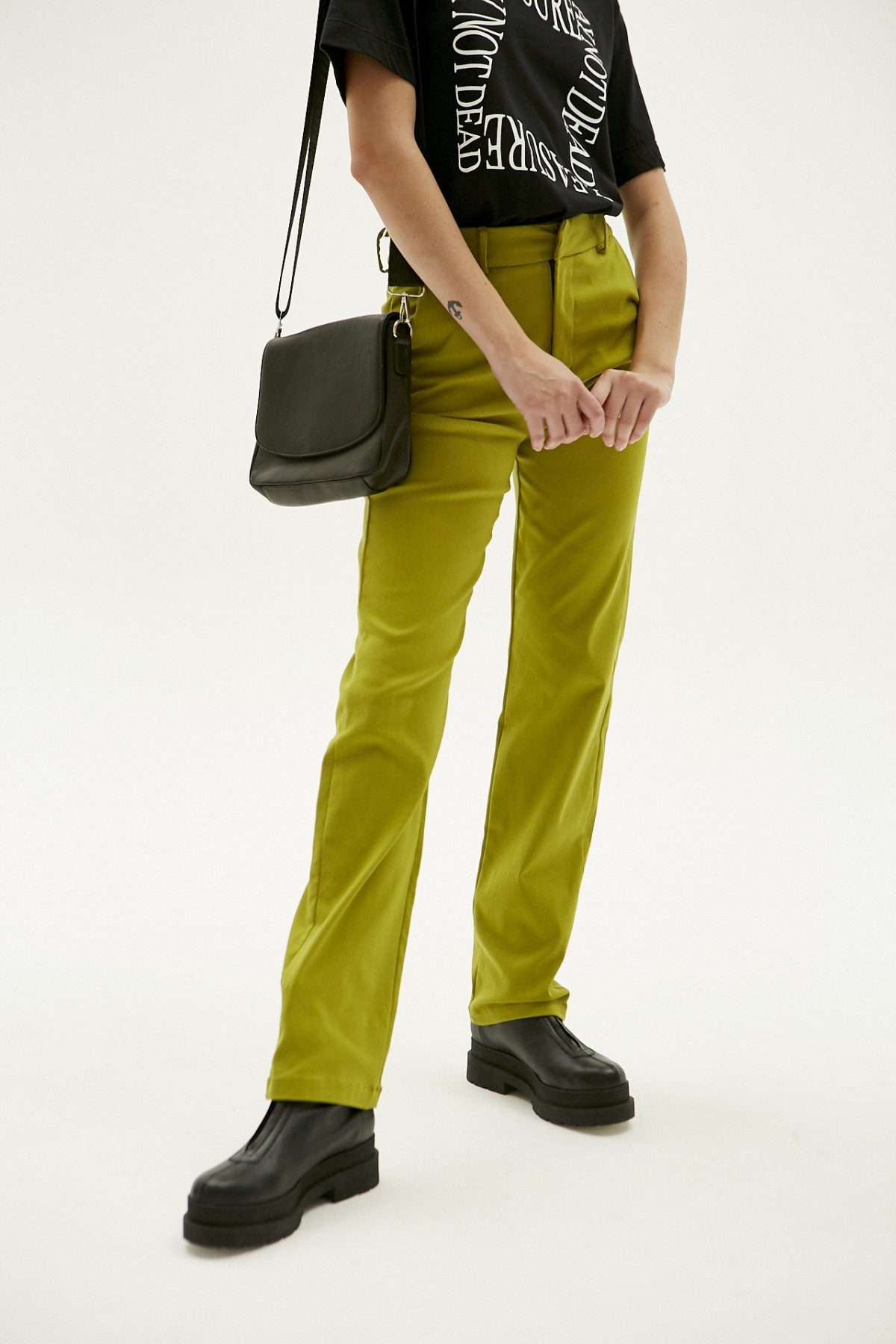 PANTALON STRAIGHT PIXIE VERDE 4